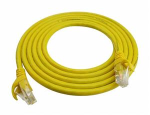 D-Link NCB-C6UYELR1-2 CAT6 UTP Patch Cord 24AWG Network Cable 2m